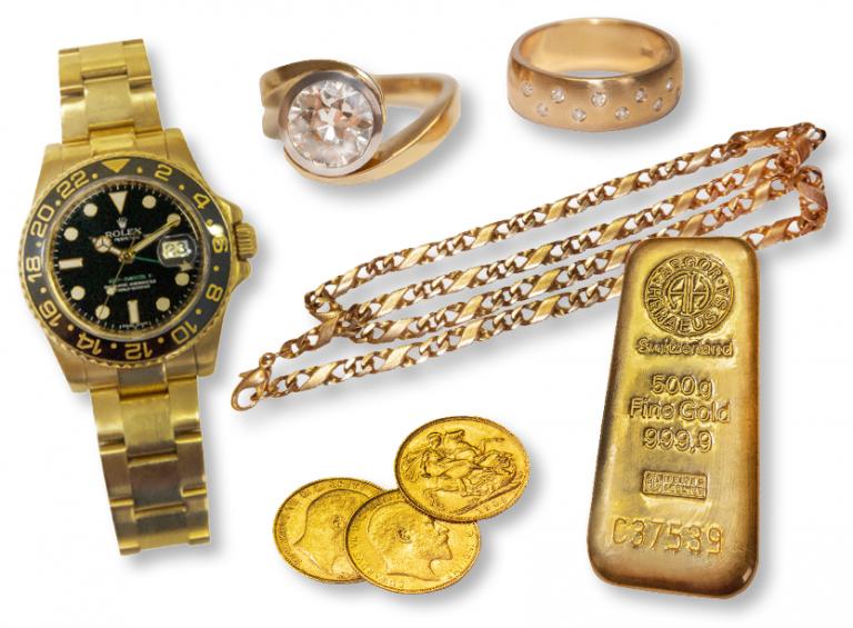 Leihhaus Kemp Gold beleihen