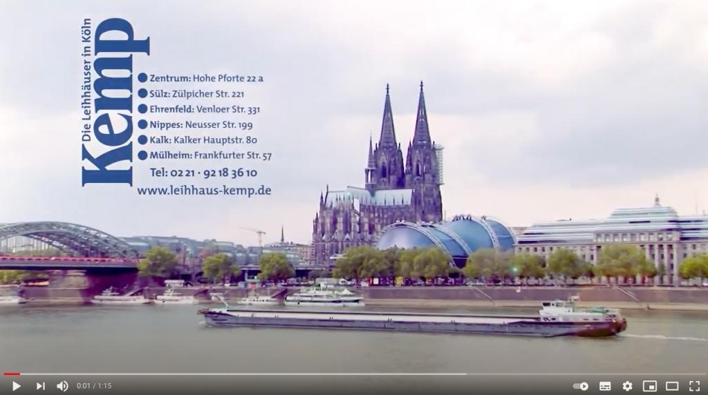 Köln Kemp Pfandkredit Youtube